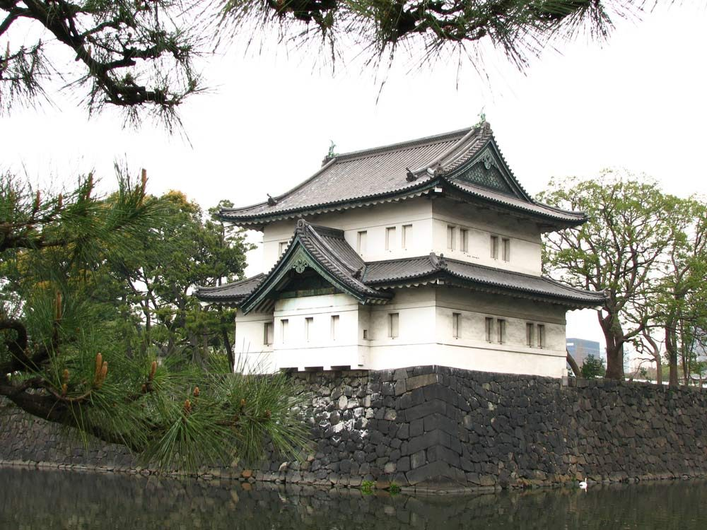 Imperial Palace Grounds in Japan