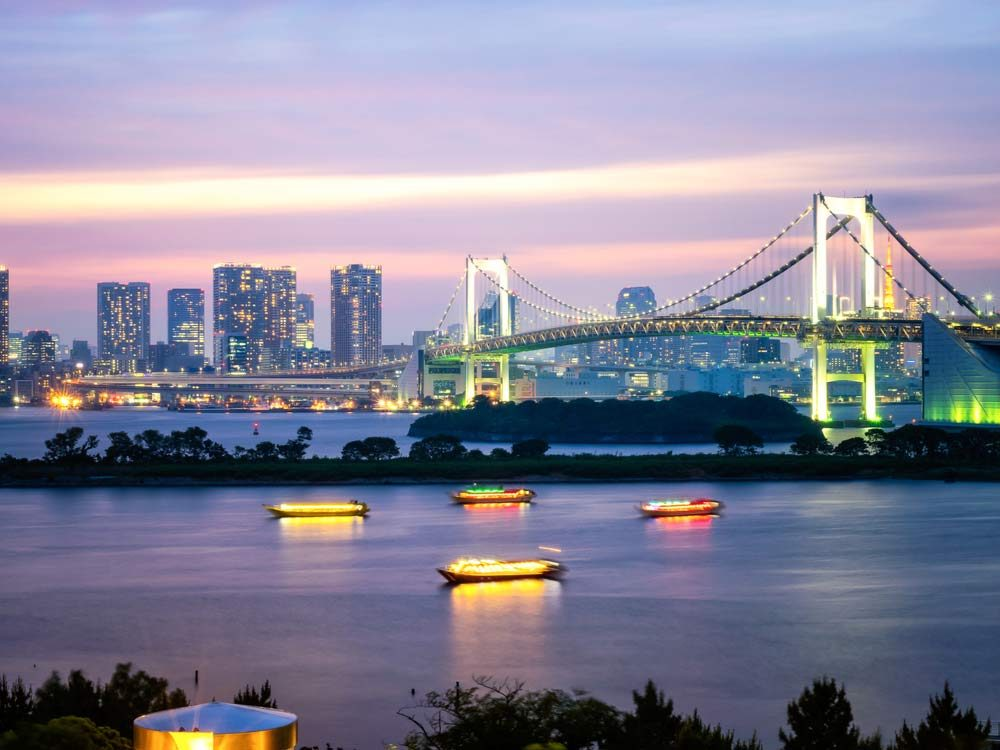 Odaiba is one of the most popular Tokyo attractions