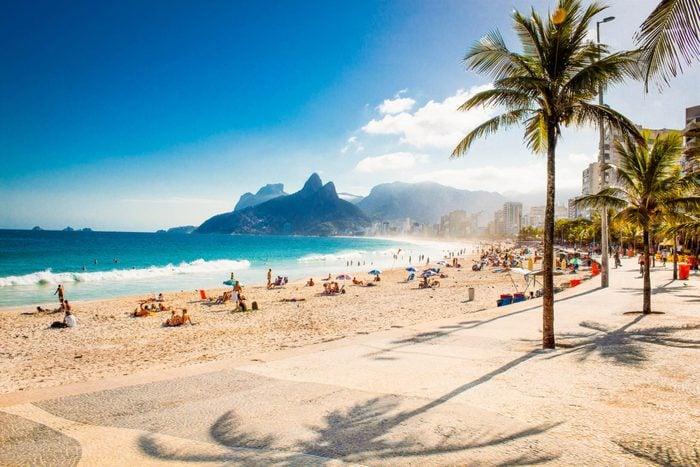 Ipanema and Leblon beaches in Rio de Janeiro