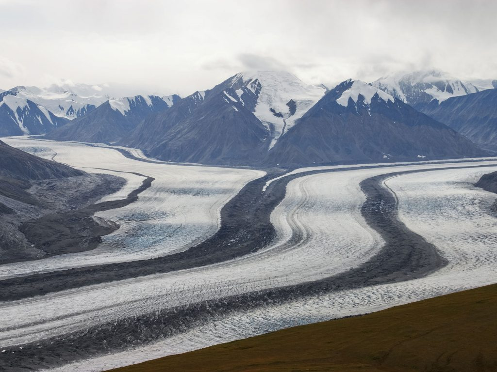 Glacier in Kluane National Park