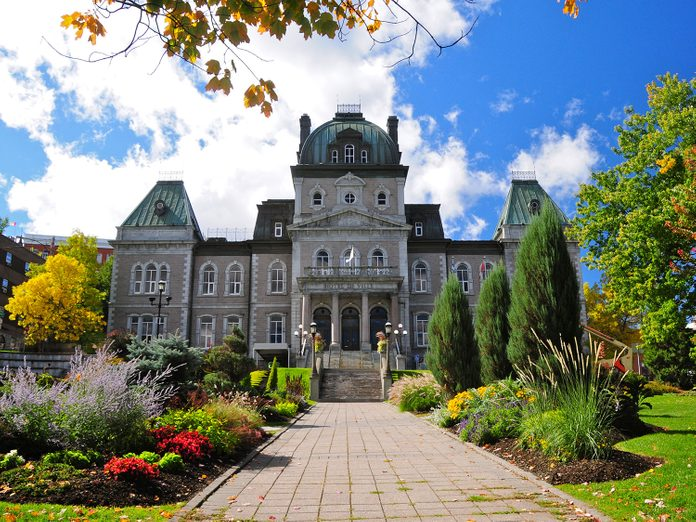 Town Hall in Sherbrooke, Quebec