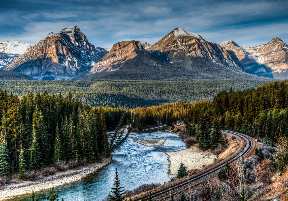 Rockies in Banff National Park