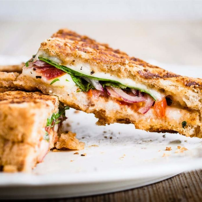 Apulia Panini Grilled Cheese Sandwich