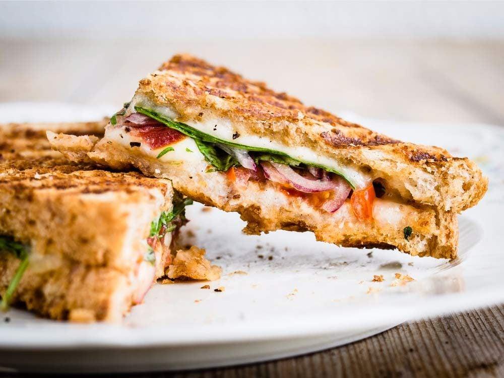 Apulia Panini Grilled Cheese Sandwich