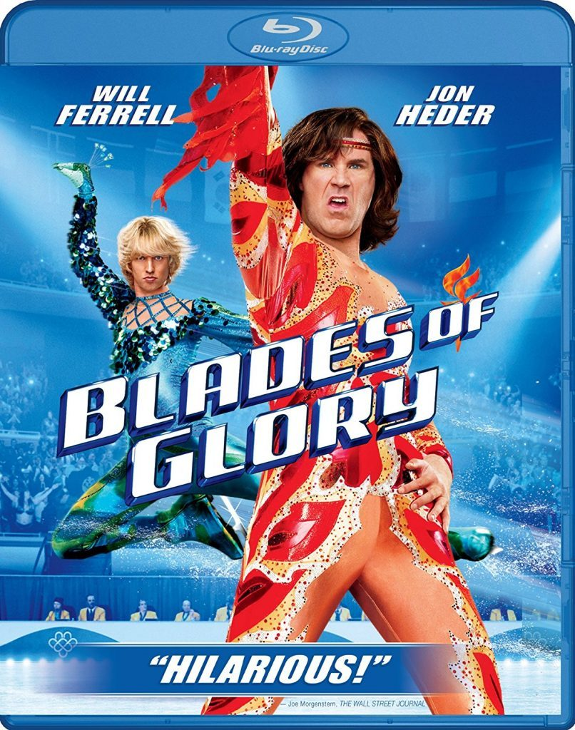 Blu-ray cover of Blade of Glory