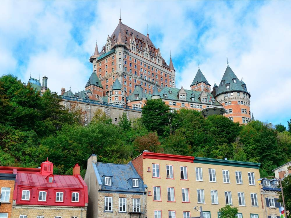 Chateau Frontenac Hotel in Quebec City