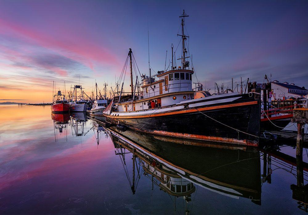Fishing boats in Halifax, Nova Scotia