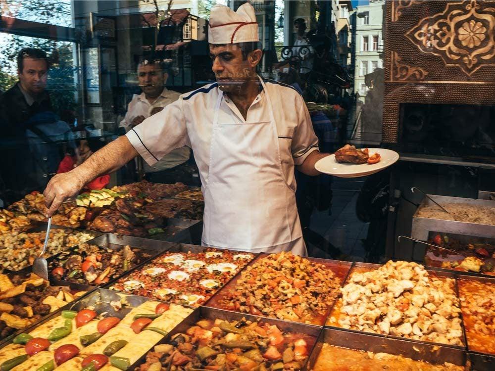 Restaurant in Turkey