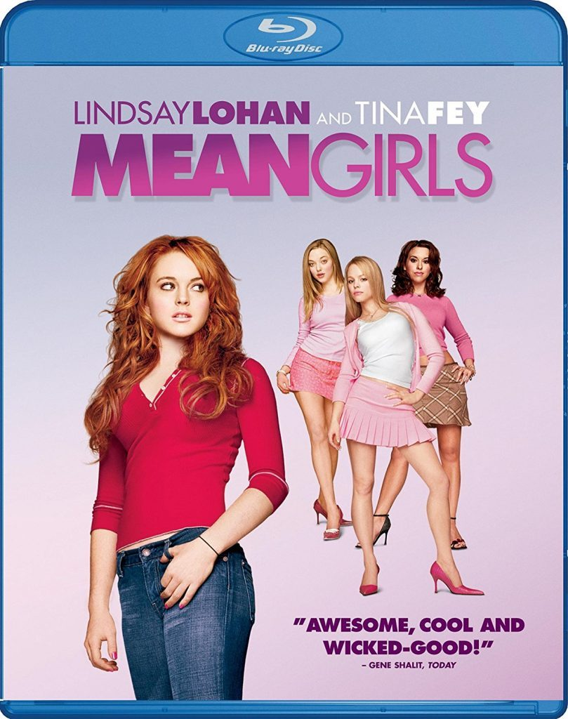 Blu-ray cover of Mean Girls