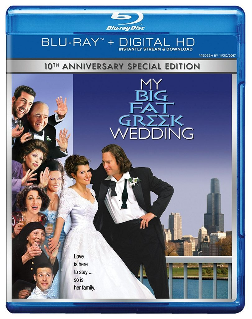 Blu-ray cover of My Big Fat Greek Wedding