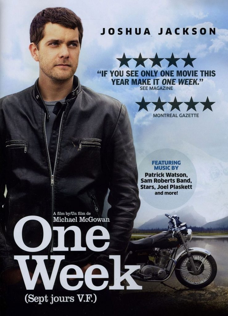 DVD cover of One Week