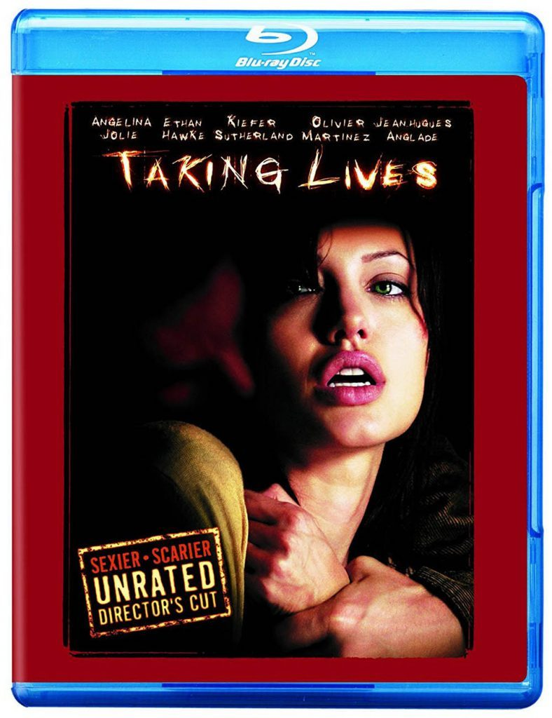 Blu-ray cover of Taking Lives