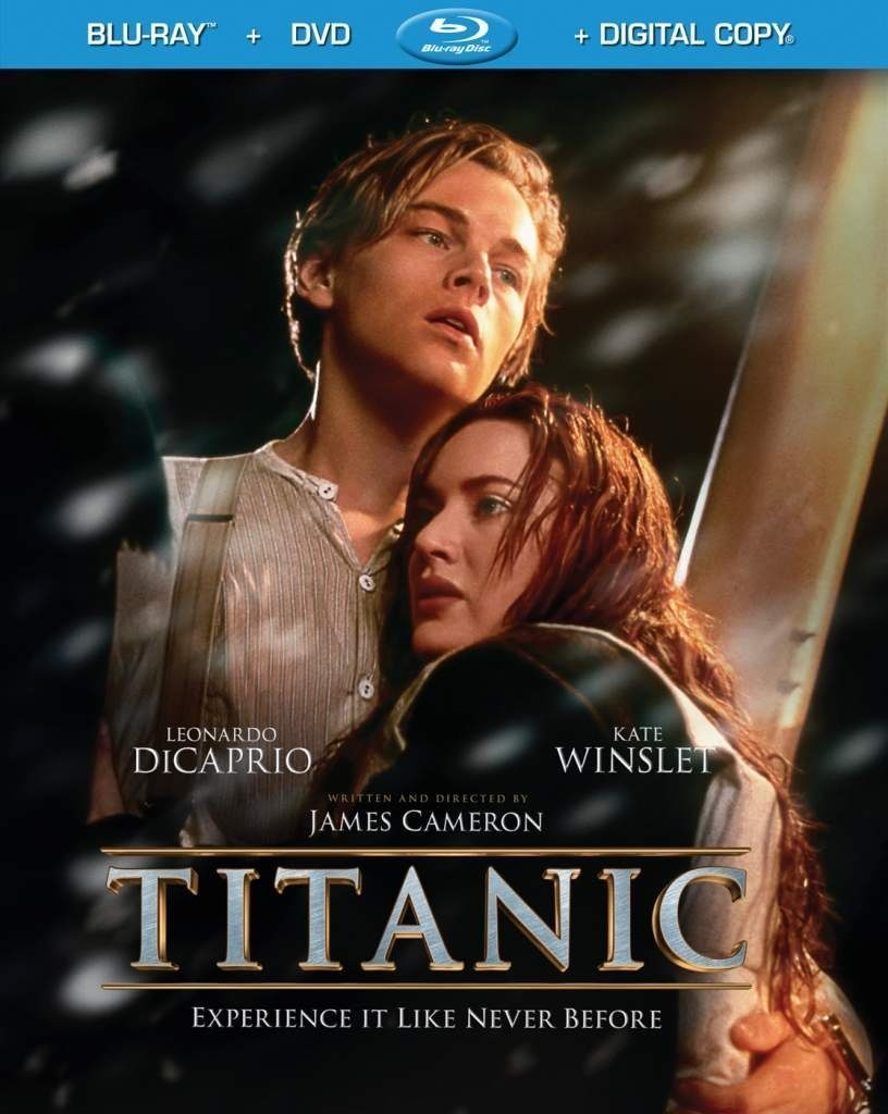 Blu-ray cover of Titanic