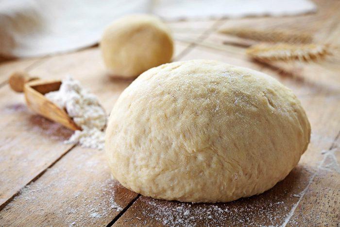 Raw bread dough