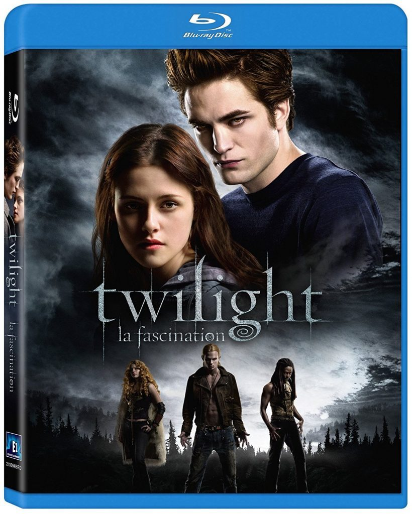 Blu-ray cover of Twilight