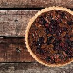 Cranberry and Pecan Pie