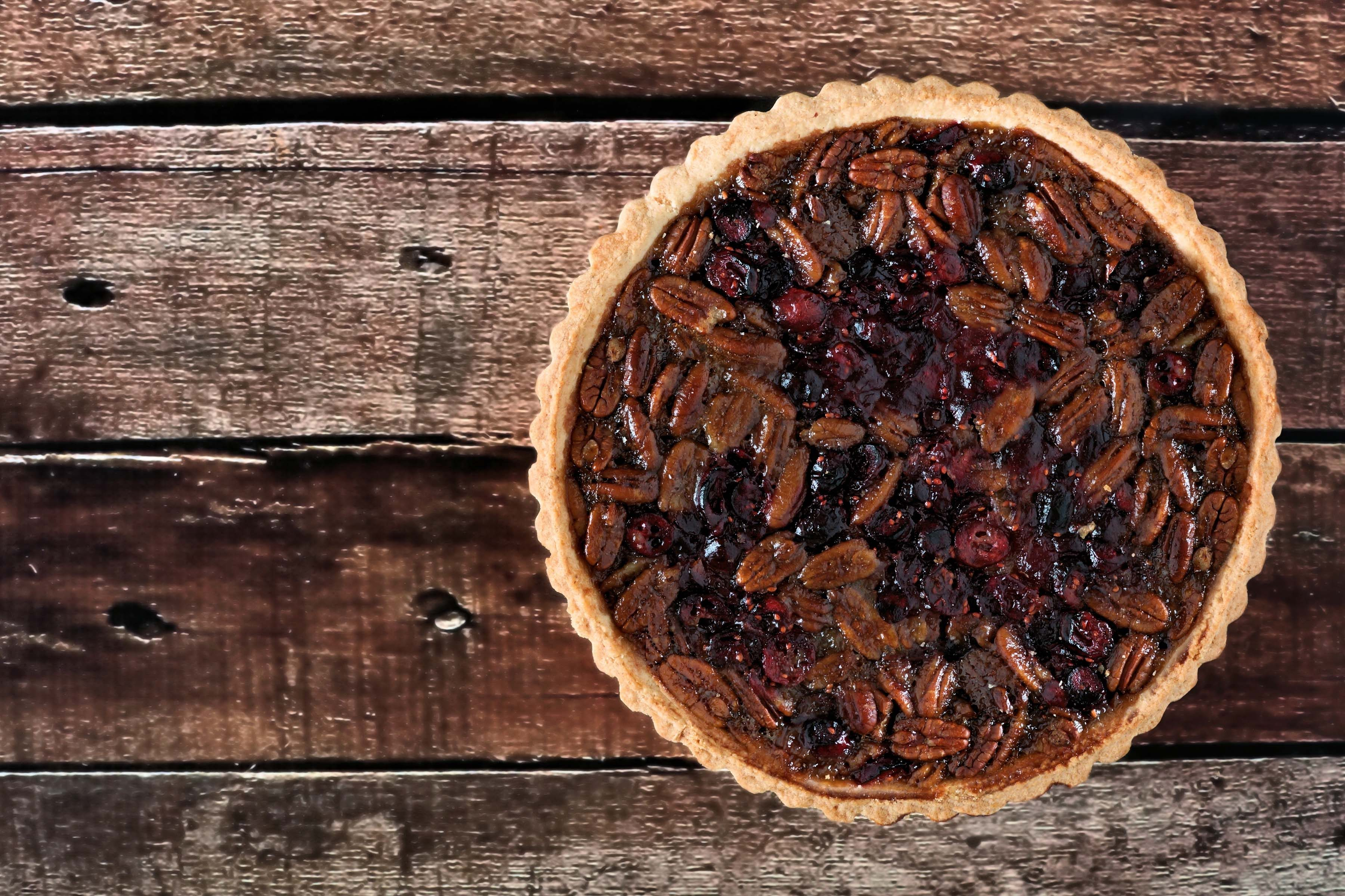 cranberry-pecan-pie