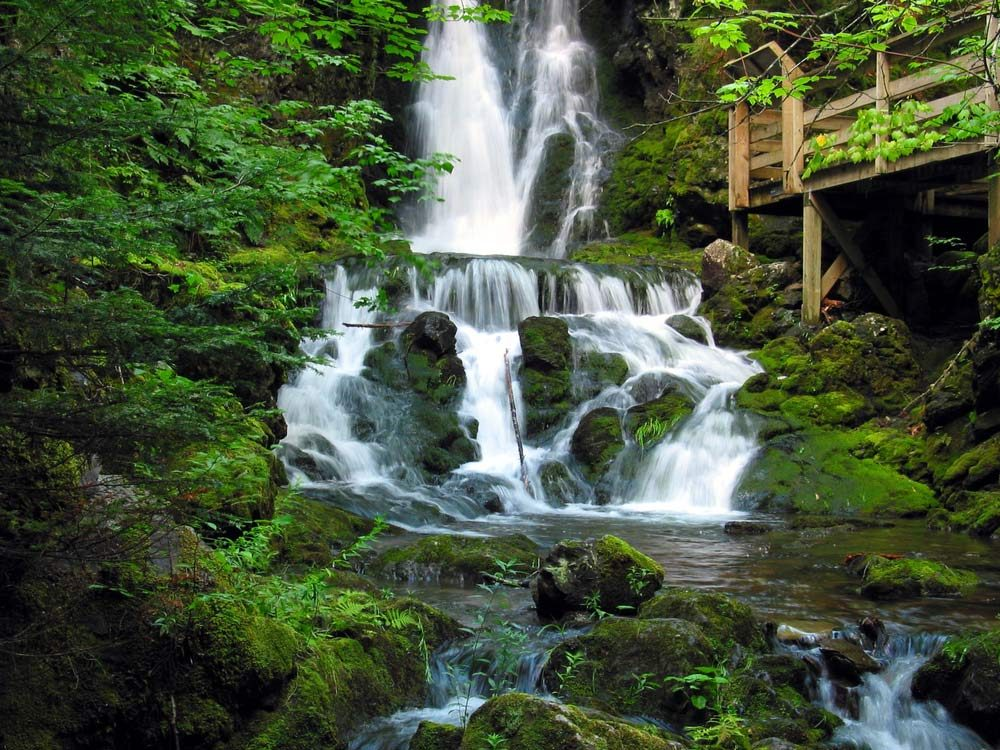 Fundy National Park waterfall