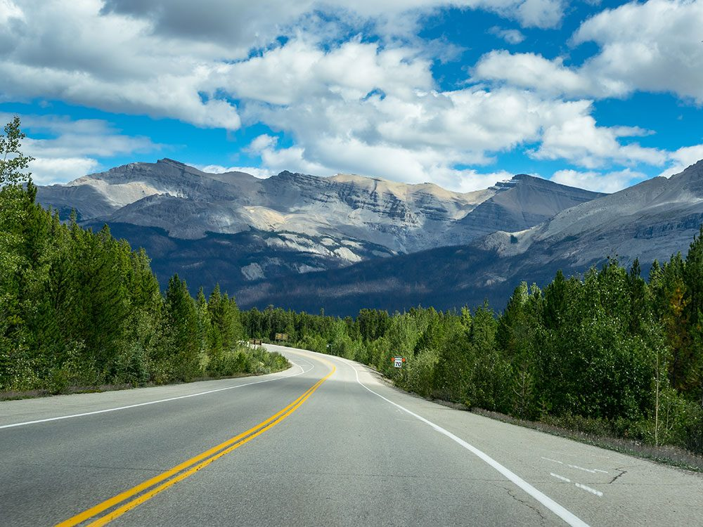 Icefields Parkway, British Columbia, road trip