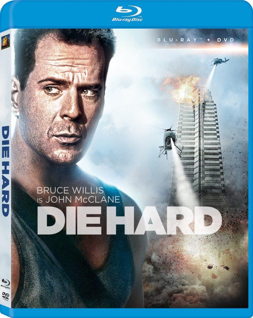 Blu-ray cover of Die Hard (1988)