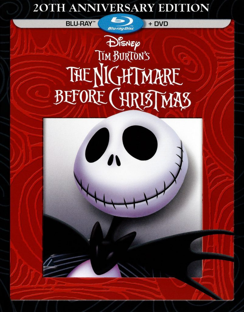 Blu-ray cover of The Nightmare Before Christmas