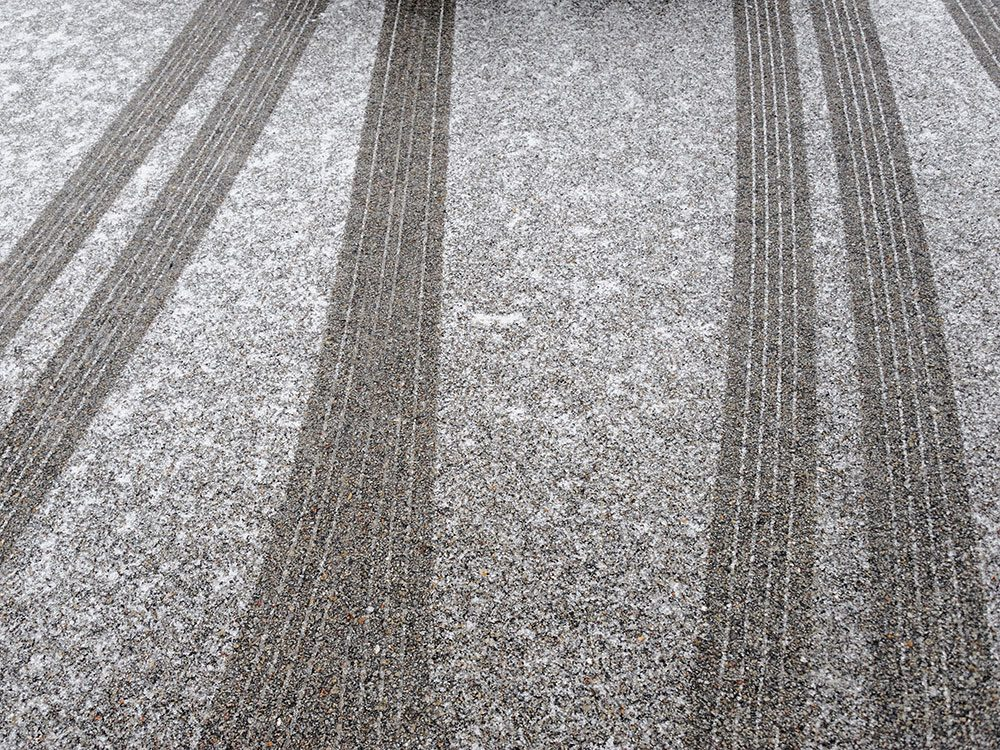 Heat mats can de-ice your driveway