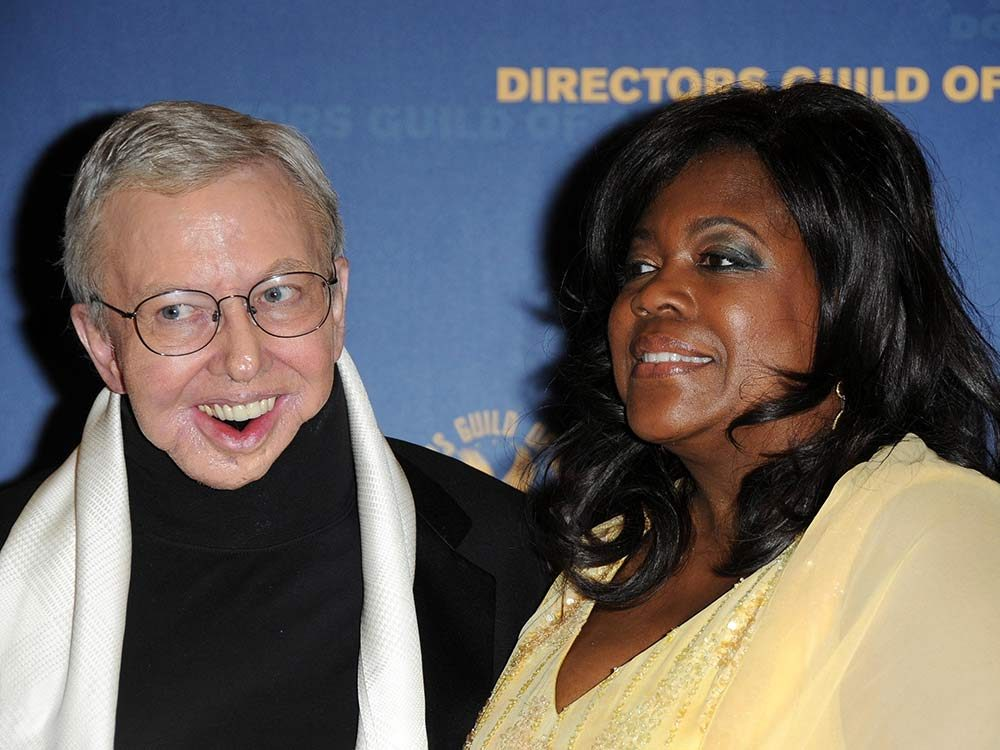 Roger Ebert with his wife Chaz
