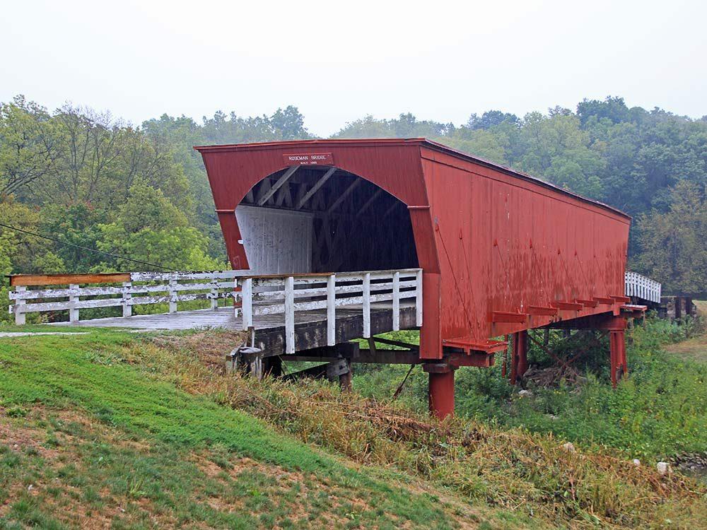 Roseman Bridge in Madison County, Iowa