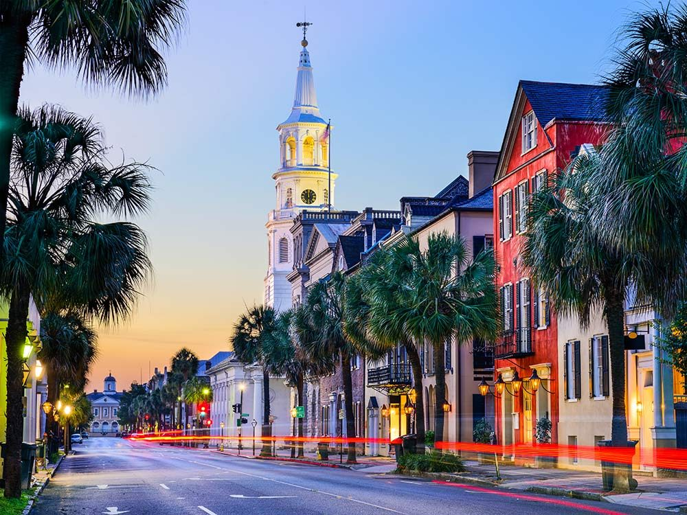 French quarter in South Carolina