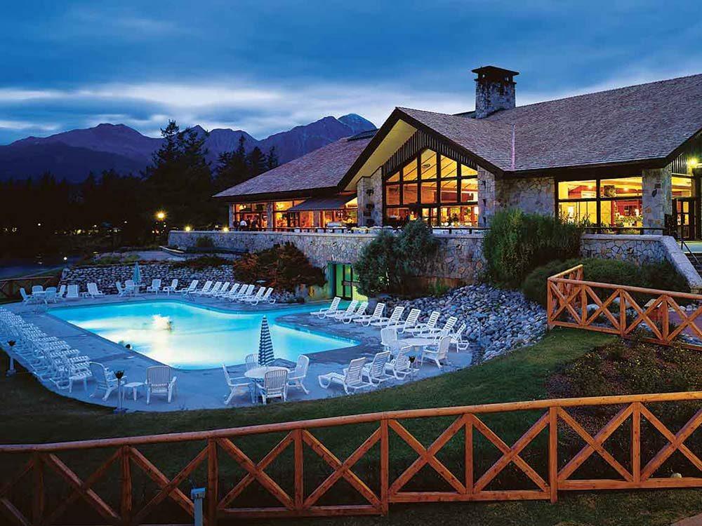 Fairmont Jasper Park Lodge in Alberta