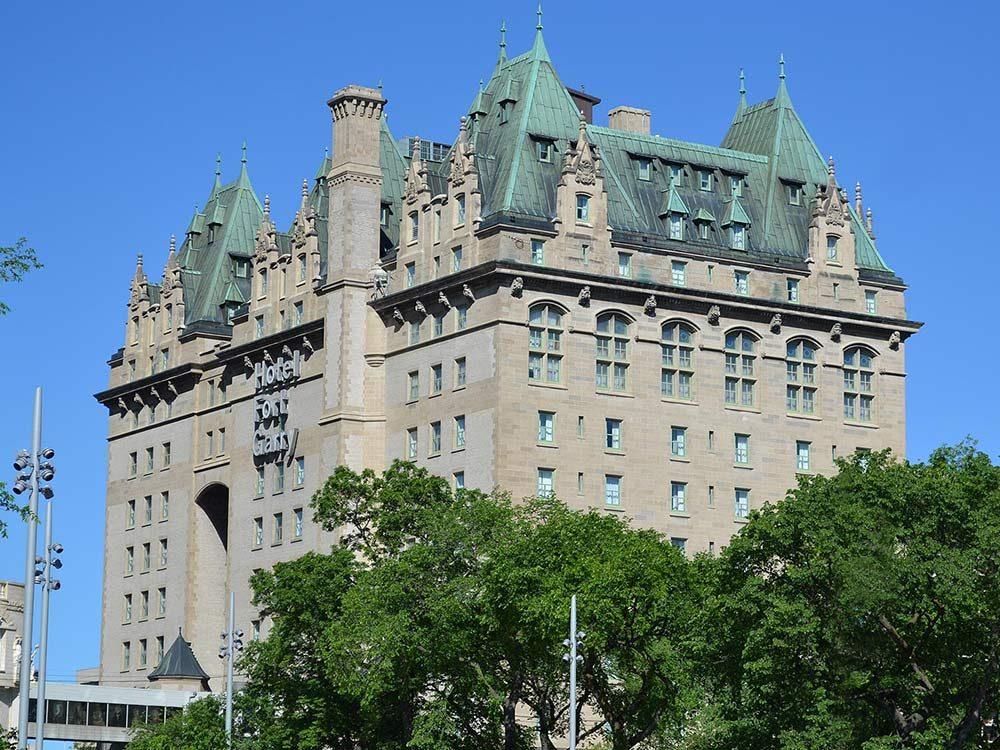 Fort Garry Hotel in Winnipeg, Manitoba