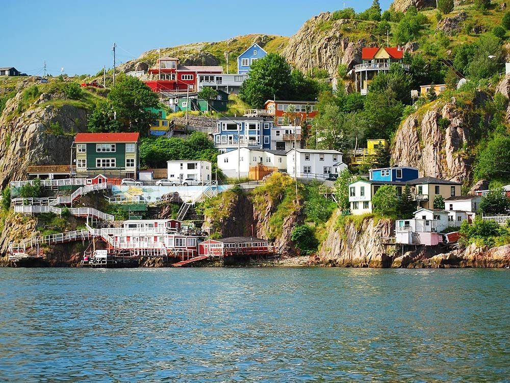Coast of St. John's, Newfoundland