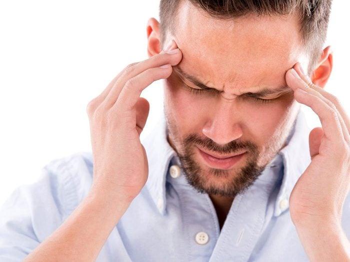 Crippling headache