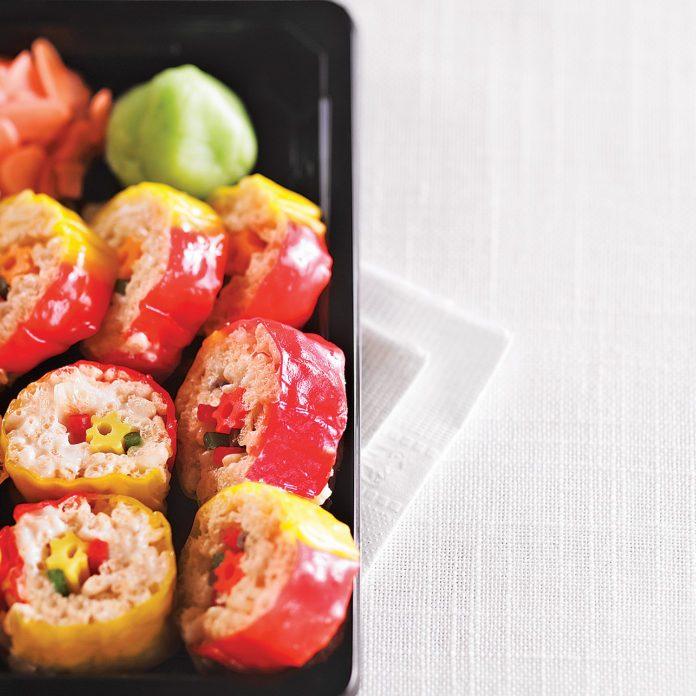 Kids' Fruity Sushi