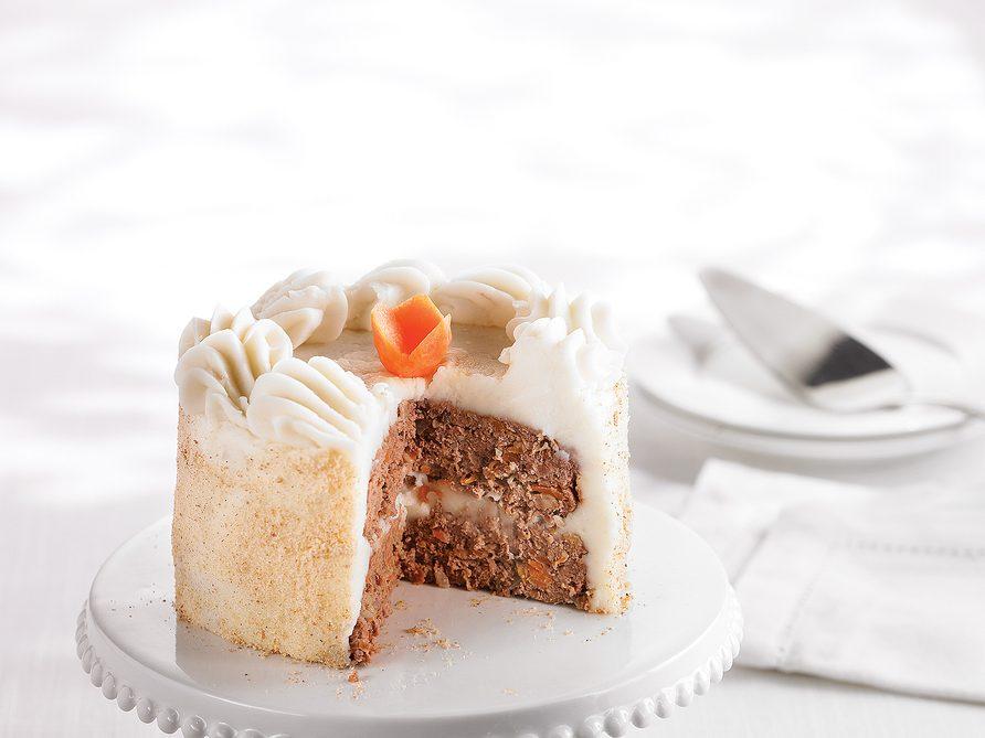 Meat loaf cake