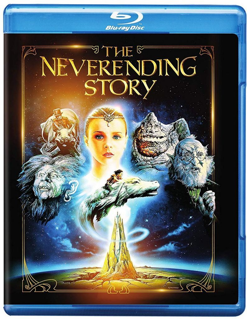 Blu ray cover of The Neverending Story