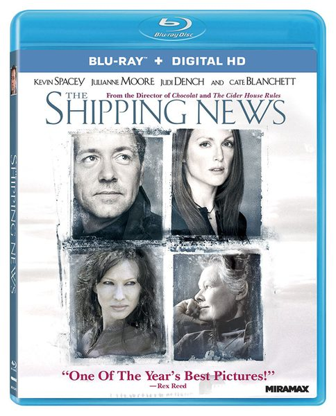 Blu ray cover of The Shipping News