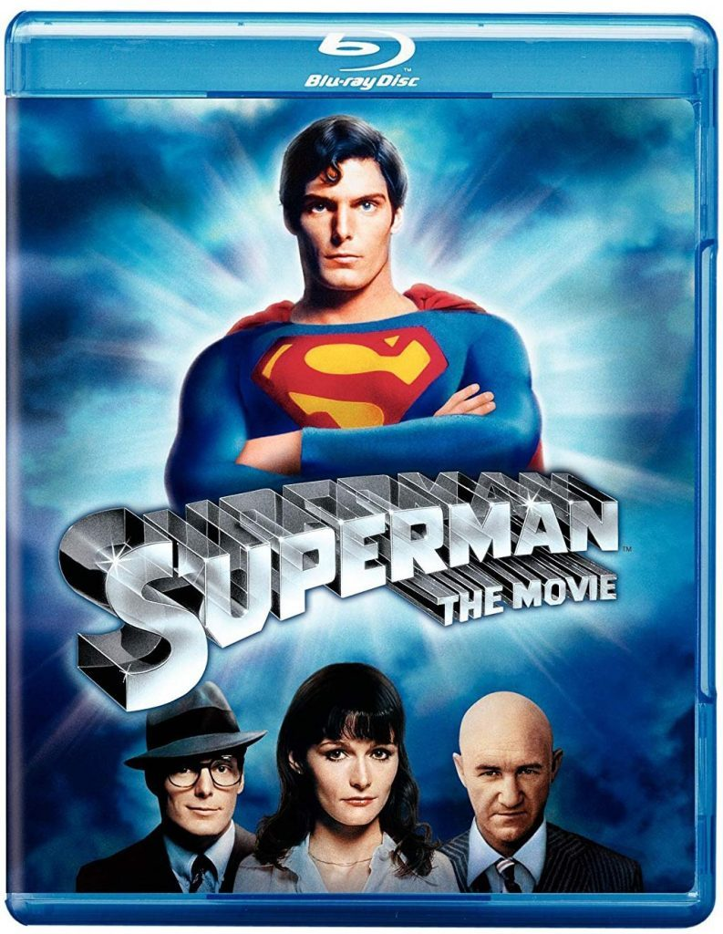 Blu ray cover of Superman
