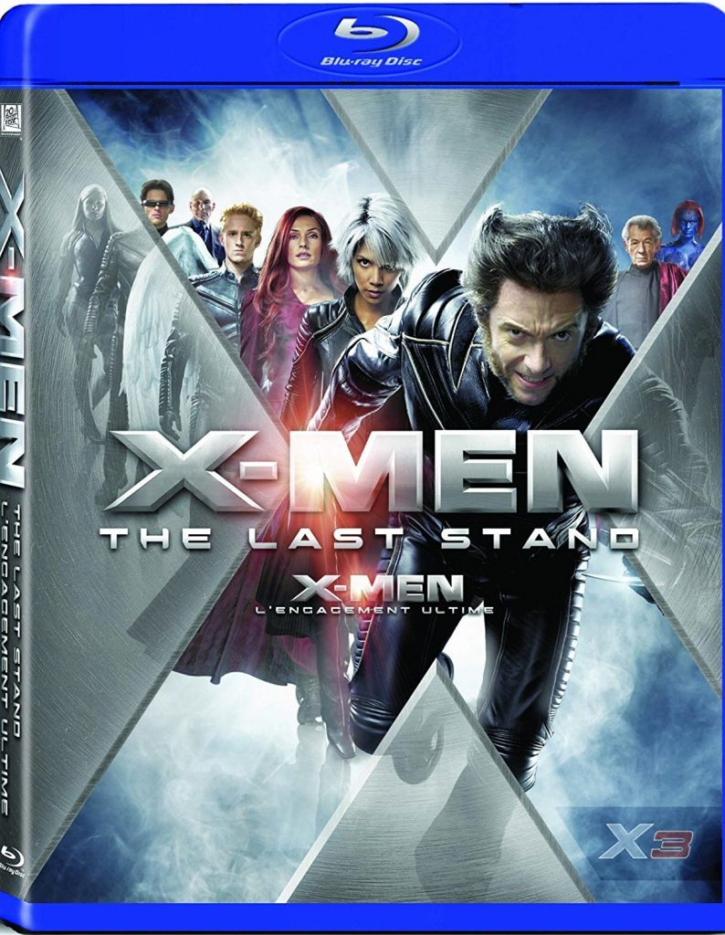 Blu ray cover of X Men: The Last Stand