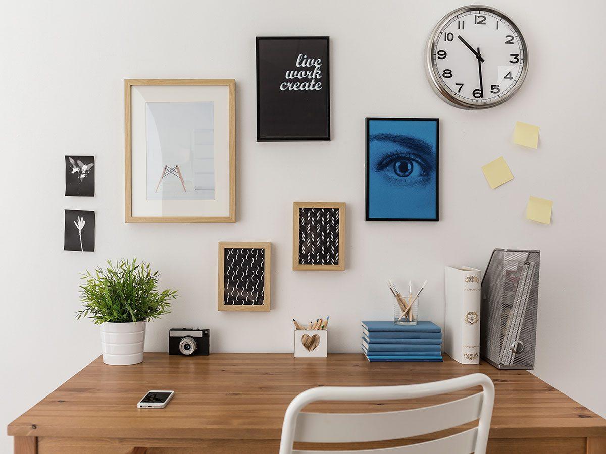 Stress management tips - Organized desk