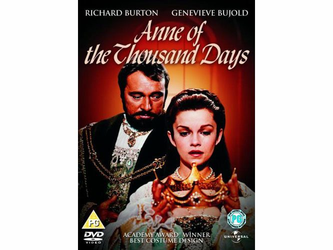 "Genevieve Bujold in ""Anne of the Thousand Days"""