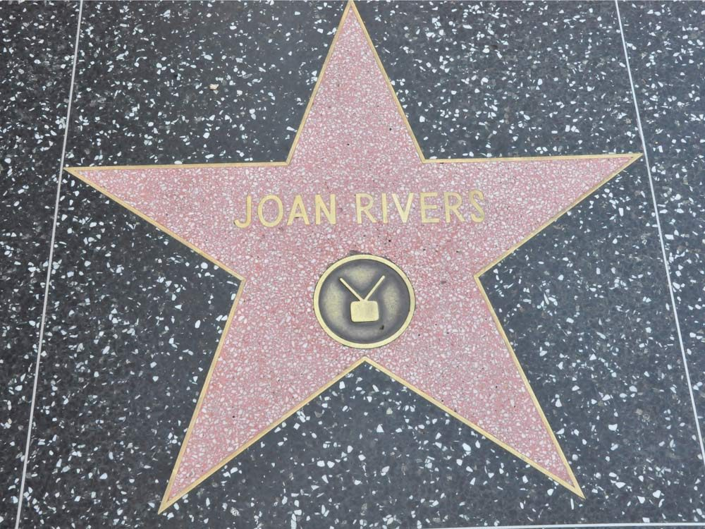 Joan Rivers Hollywood Walk of Fame