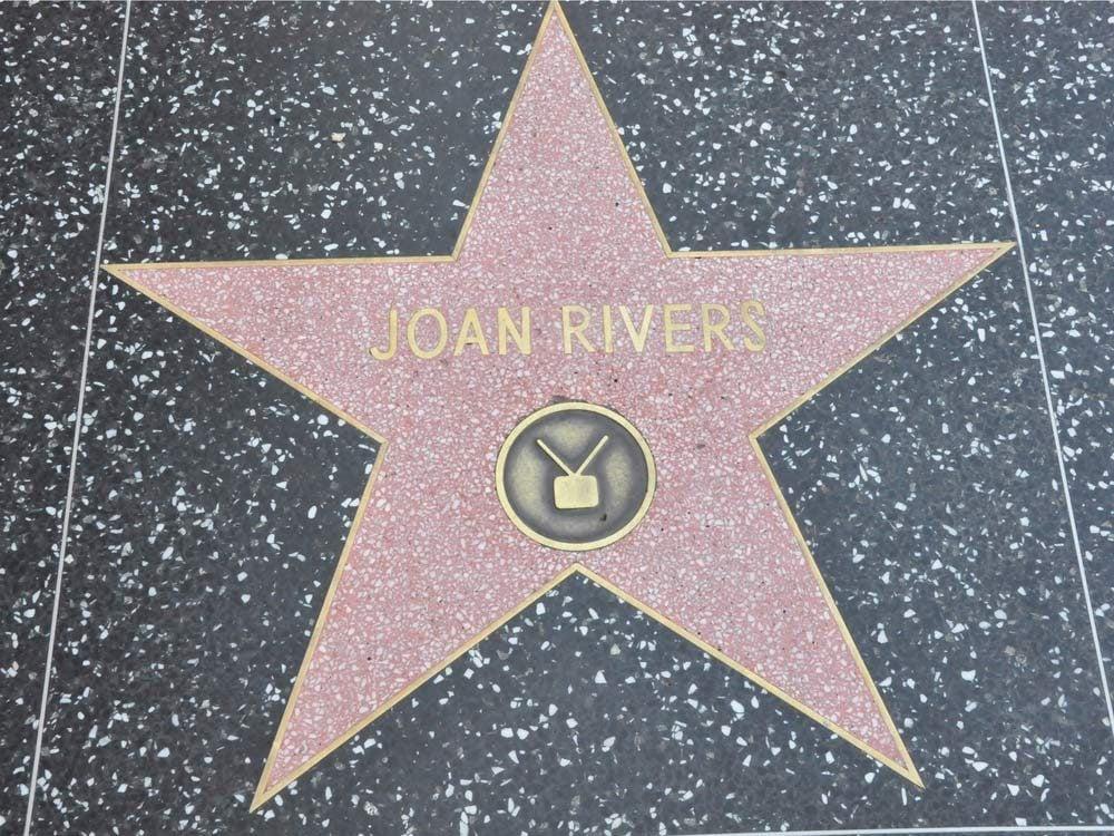 Joan Rivers Hollywood Walk of Fame