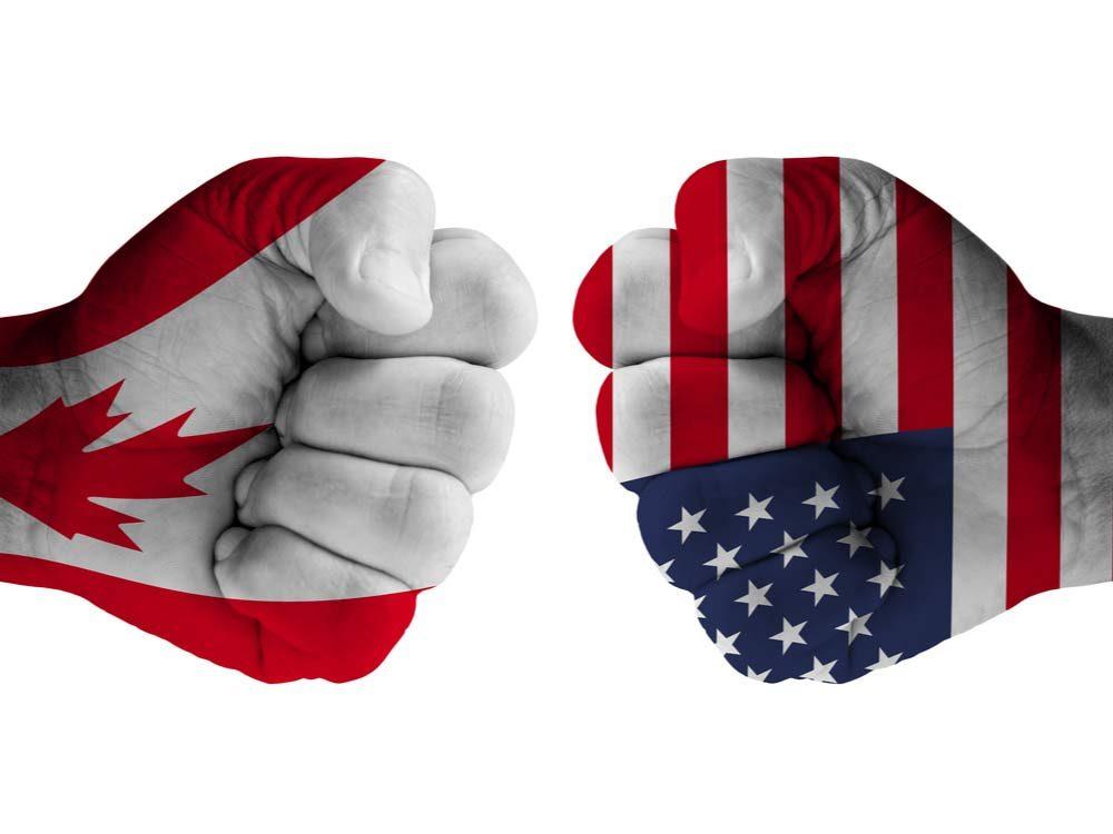 Canada-US rivalry