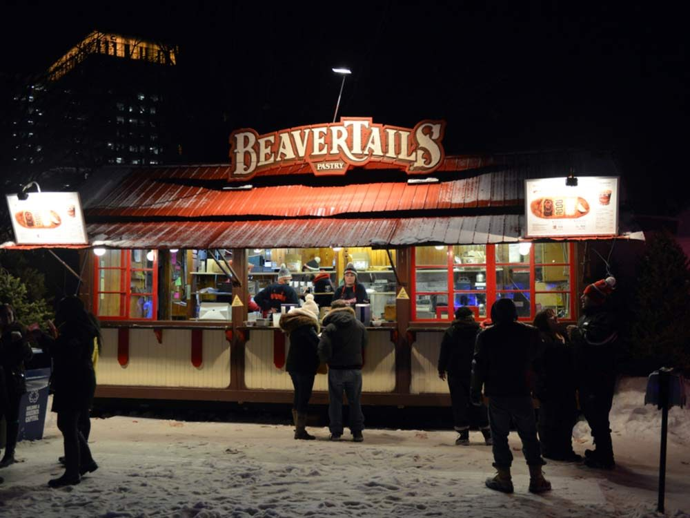 BeaverTails storefront in Ottawa, Canada