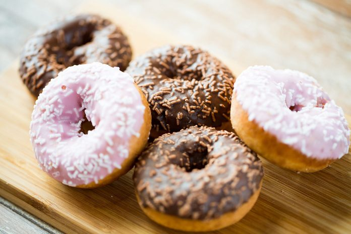 Leave high-calorie splurges away from home