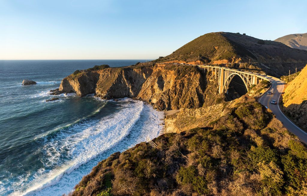 California State Route 1 clings to some of the most scenic coastline in the world