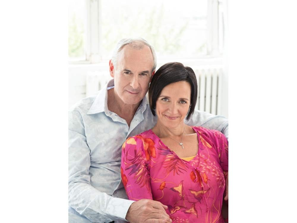 Ron MacLean and his wife Cari