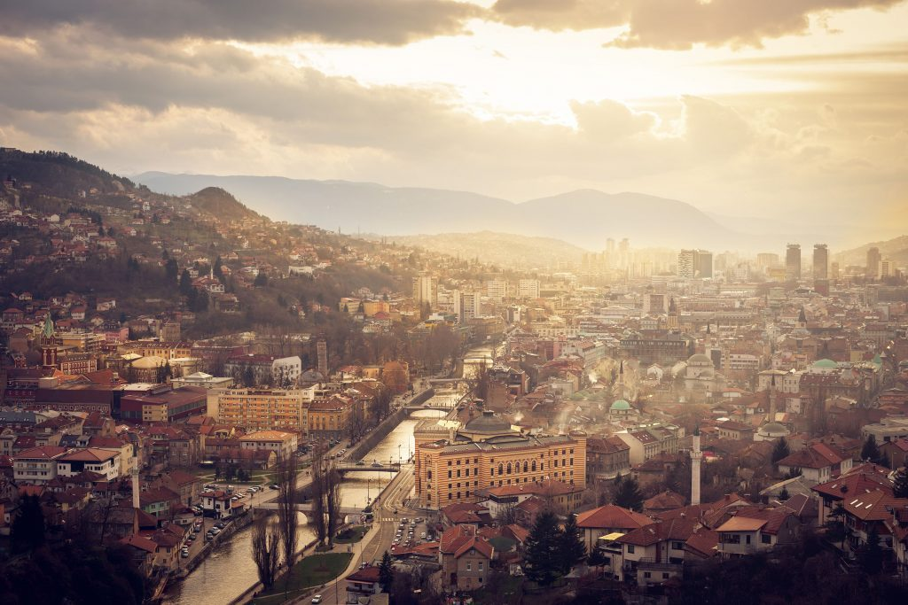 Sarajevo in Bosnia and Herzegovina , one of the must-visit Olympic cities