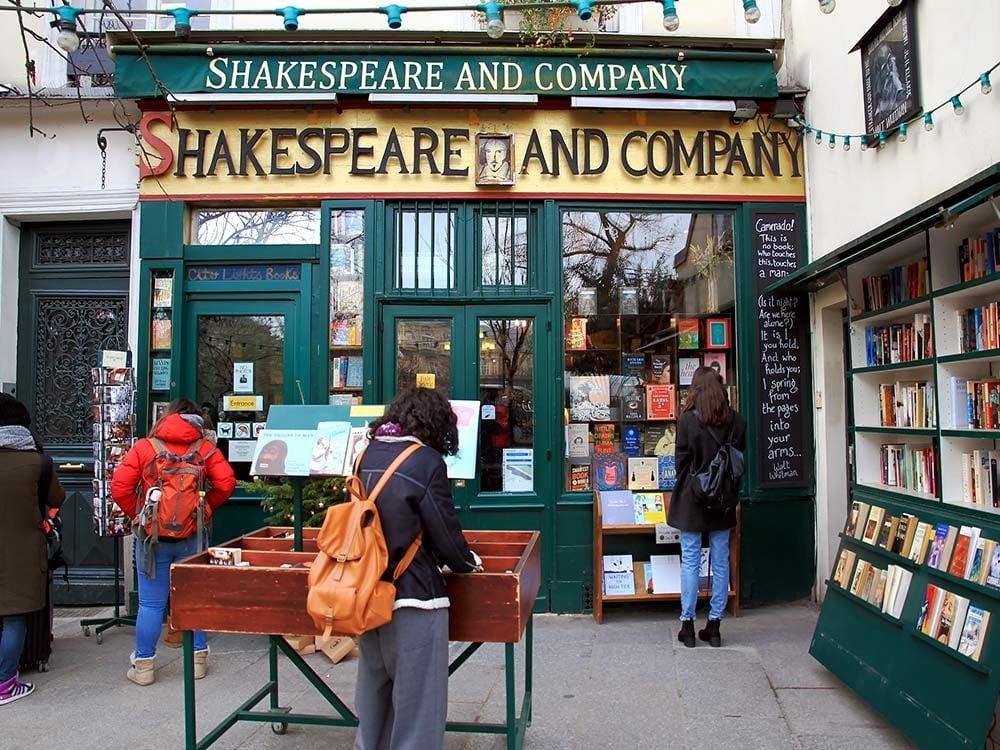 Famous Paris bookstore